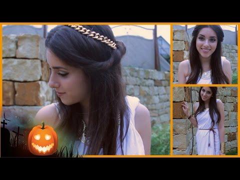Griechische Göttin | DIY Halloween Kostüm & MakeUp | #magscary