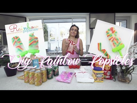 Making CANDY POPSICLES!!! Learn How To Make DIY Popsicles!!