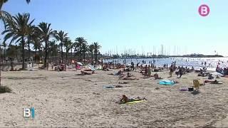 La platja de s'Arenal de Llucmajor té un nivell de contaminació que fa que no es recomani el bany