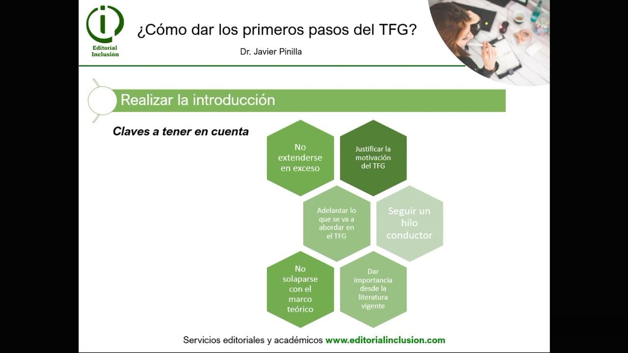 ¿Cómo dar los primeros pasos del TFG? (Educación)