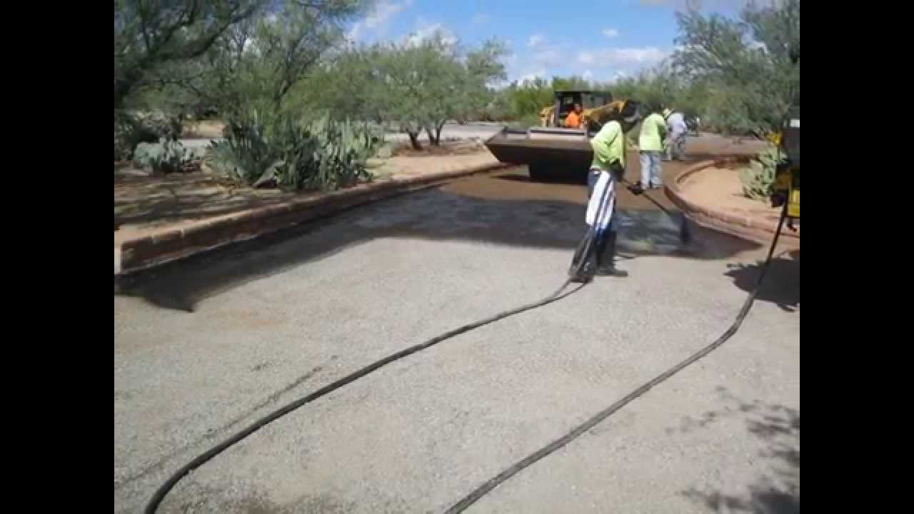 Chip sealing the driveway youtube chip sealing the driveway solutioingenieria Image collections