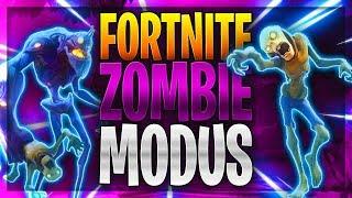 FORTNITE ZOMBIE MODUS! | Alleine gegen Zombies, überlebe ich das? | Fortnite Battle Royale