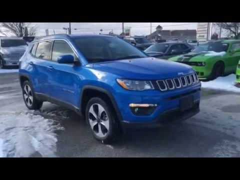 Jeep Compass 2018 Blue