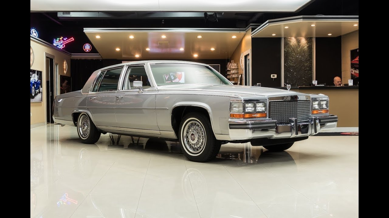 1987 Cadillac Brougham For Sale Youtube