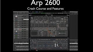 arp 2600 sequencer ext audio sample hold