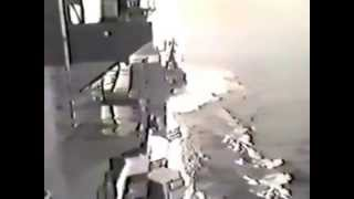 1988 years. soviet ramming USS Yorktown CG 48 in black sea
