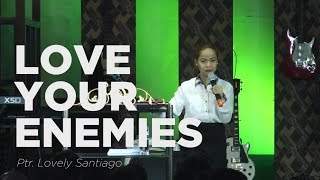 On Luke 6:27-36, Jesus encourages us to love our enemies; who've hu...