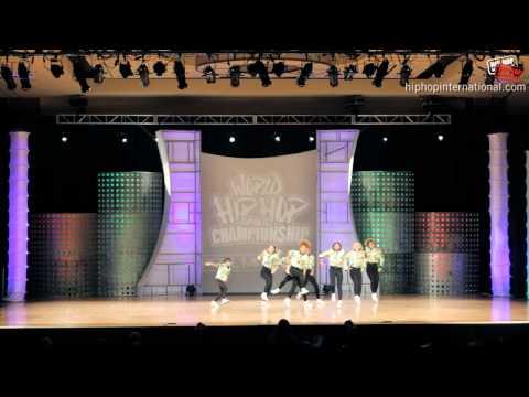 Shockarellas (UK) at World Hip Hop Dance Championship Prelims 2012 (Varsity)