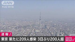 東京で新たに209人感染 3日ぶり200人超え(2020年11月3日) - YouTube