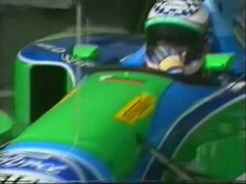 JJ Lehto Testing Crash Silverstone 1994.wmv