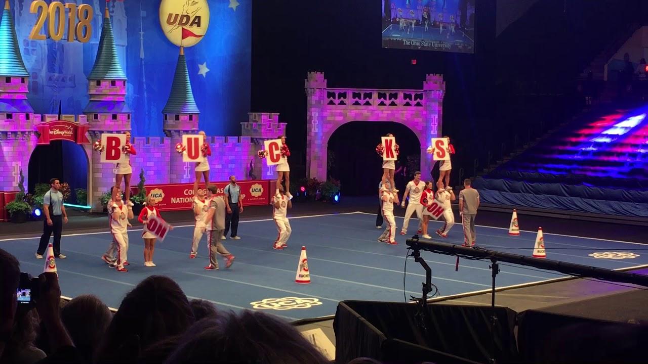 Ohio State Cheer Nationals 2018