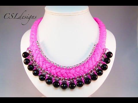 Fashion statement collar necklace