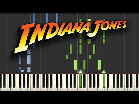Indiana Jones - Theme Song (Piano Tutorial)