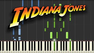 Indiana Jones - Theme Song (Piano Tutorial)