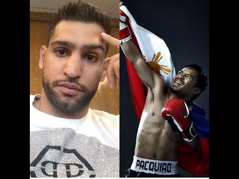 """Amir """"Delusional"""" Khan Doesn't Want to Pay Pacquiao !"""