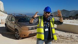 Με τη νέα γενιά Dacia Duster στο λατομείο μαρμάρων Διονύσου