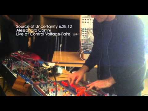 Alessandro Cortini at Source of Uncertainty 6.28.12