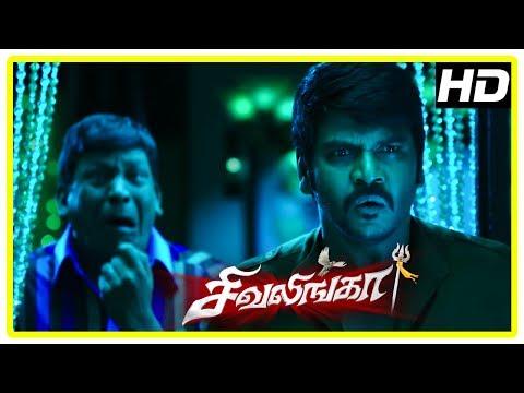 Get Shivalinga Movie Scenes | Raghava realise Rithika is possessed with Shakthi's spirit | Vadivelu Screenshots