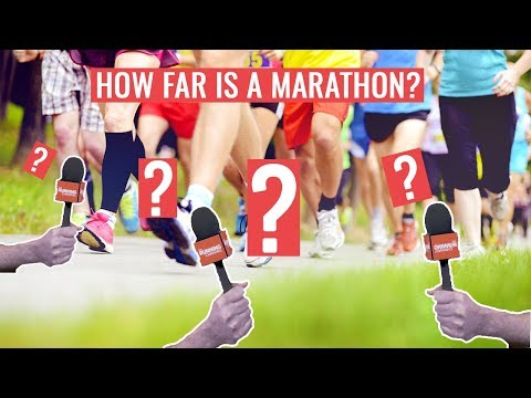 How Far Do People Think A Marathon Is?