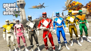 Video POWER RANGERS!! (GTA 5 Mods) download MP3, 3GP, MP4, WEBM, AVI, FLV Oktober 2018