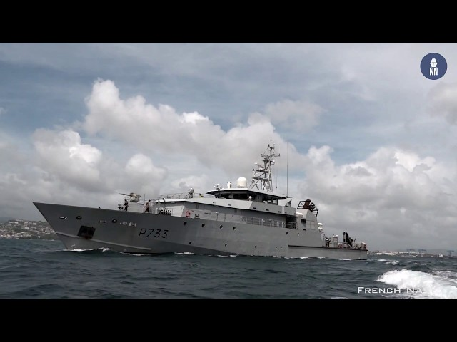 IPD Intuitive Pointing Device Tests Aboard French Navy Patrol Vessel