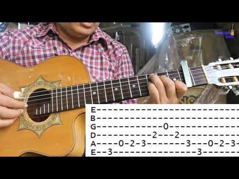 La Elenita, Dueto los Armadillos, Requinto tutorial con tablaturas