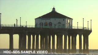 Manhattan Beach, CA / Panasonic HDC-SD5 sample video