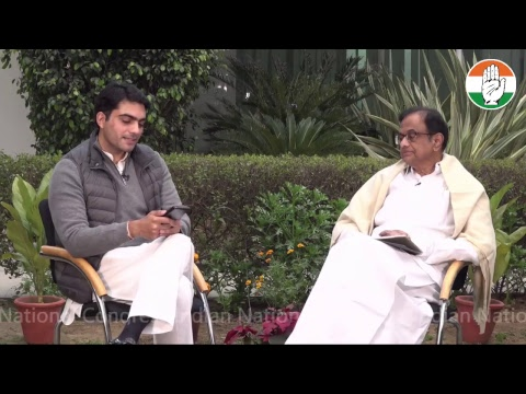 LIVE: #InConversationWith P. Chidambaram, Rajya Sabha MP & former Finance Minister