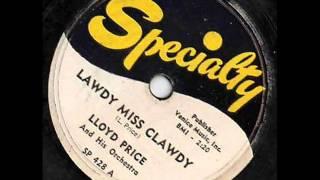 lloyd price lawdy miss clawdy 1952