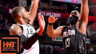 Houston Rockets vs San Antonio Spurs Full Game Highlights | March 22, 2018-19 NBA Season