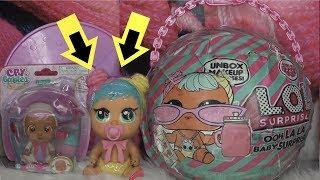 LOL Surprise Oh La La Baby Surprise custom dolls Opening and Unboxing Cry Babies dolls Bon Bon