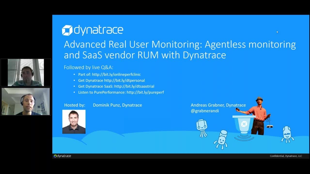 Dynatrace Real User Monitoring Javascript Code Management API