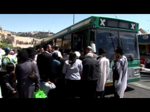 Jerusalem Public Transportation Congestion