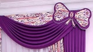 how to make swags and tails curtains(Amazing and wonderful )