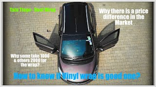 Tata Tiago - Roof Wrap - Why there is a price difference -