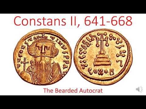 Constans II the Bearded, 641-668