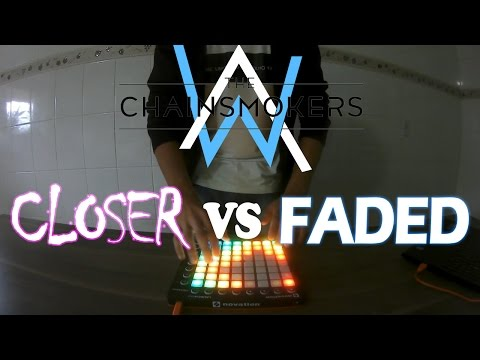 Closer VS Faded | Launchpad Mashup +  Arquivo para Download