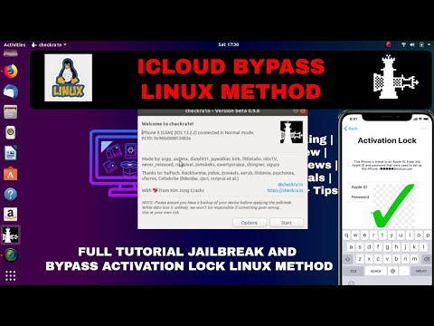 Icloud Bypass Iphone & Ipad Ios 13 Linux Method icloud Bypass Ios 13 icloud Bypass Ios 12 #checkra1n