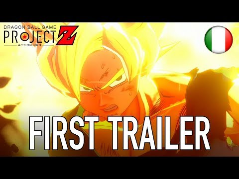 Dragon Ball Game Project Z - PS4/XB1/PC - First Trailer (italiano)