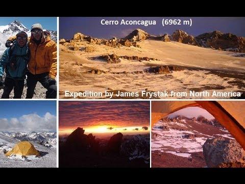 Cerro Aconcagua Expedition  (6962 m / 22841ft).