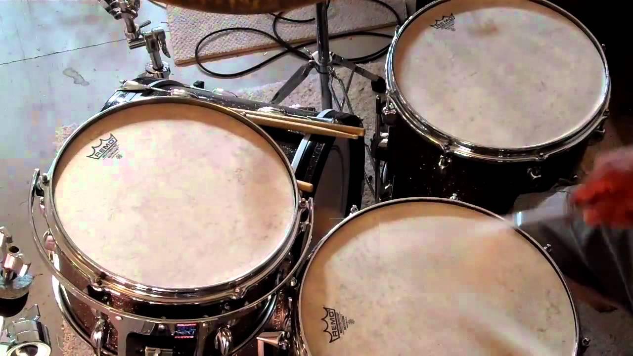 Jazz Snare Drum Head : remo skyntone drum heads on vintage slingerland jazz kit youtube ~ Vivirlamusica.com Haus und Dekorationen