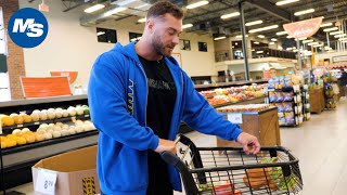 Grocery Shopping with Pro Bodybuilders   Chris Bumstead