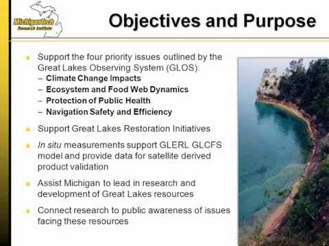 Use of Nearshore Monitoring Buoys in the Great Lakes - Webinar