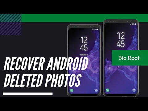 Recover Deleted Photos & Videos - Any Android Data Recovery - No Root