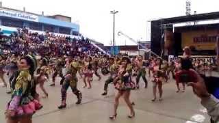 FESTIVIDAD EN HONOR A LA VIRGEN DE COPACABANA 2014 - CENTRALISTAS SAN MIGUEL