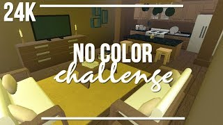 ROBLOX | Welcome to Bloxburg: No Color Challenge 24k