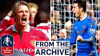 Manchester United v Chelsea | Beckham, Hazard or Drogba?! | Best FA Cup Goals