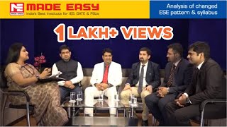 ESE 2017 : New Scheme & Pattern of UPSC Engineering Services Exam(IES) by MADE EASY experts