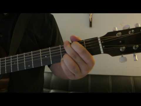 "Shakira - ""Waka Waka This Is Africa"" Como Tocar Guitarra (Tutorial Facil!!)"