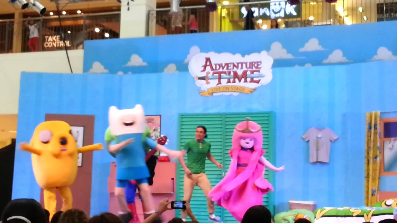 meet the cast of adventure time